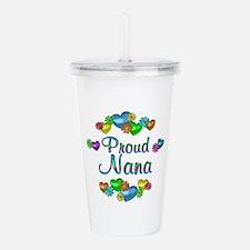 Proud Nana Acrylic Double-wall Tumbler