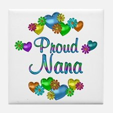 Proud Nana Tile Coaster