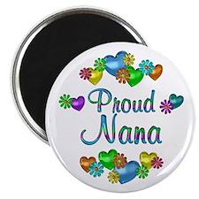 "Proud Nana 2.25"" Magnet (100 pack)"