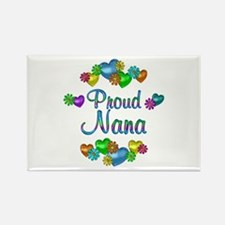 Proud Nana Rectangle Magnet (100 pack)