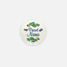 Proud Nana Mini Button (100 pack)
