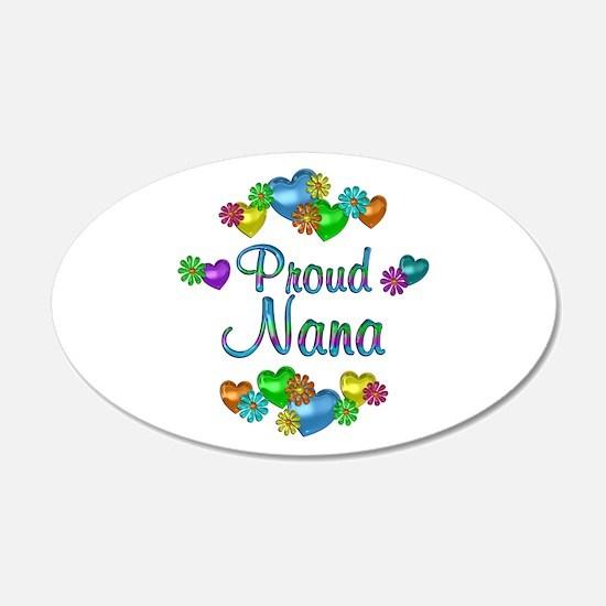Proud Nana Wall Sticker