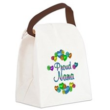 Proud Nana Canvas Lunch Bag