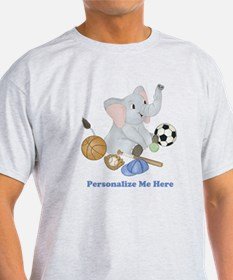 Personalized Sports - Elephant T-Shirt