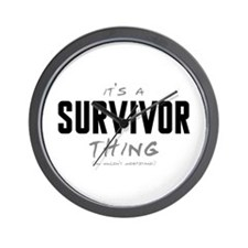 It's a Survivor Thing Wall Clock