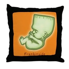 Frankinside Throw Pillow