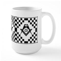 Masonic Tiles - Checkers Mug