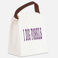 I Dig Fossils Canvas Lunch Bag
