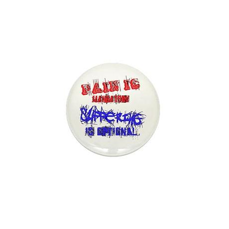 Pain is Mandatory Mini Button (10 pack)