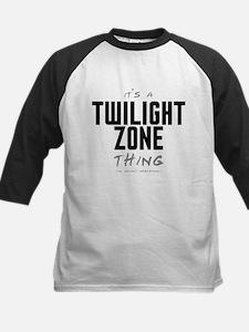 It's a Twilight Zone Thing Kids Baseball Jersey