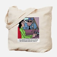 Science Cartoon 1825 Tote Bag