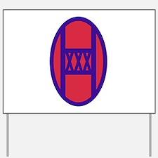 30th Armored Brigade Insignia.png Yard Sign