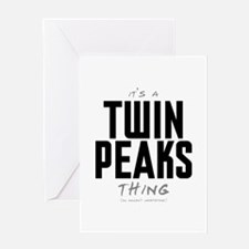 It's a Twin Peaks Thing Greeting Card