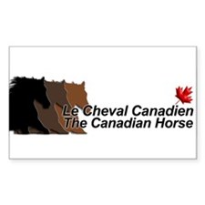 Cheval Canadien/Canadian Horse - Decal