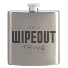 It's a Wipeout Thing Flask