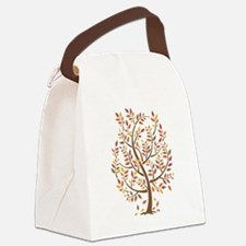 Autumn Tree Canvas Lunch Bag