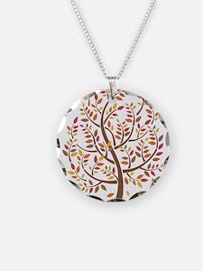 Autumn Tree Necklace