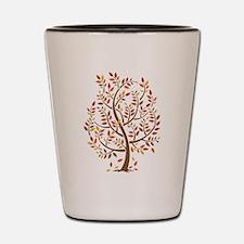 Autumn Tree Shot Glass