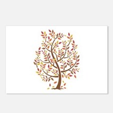 Autumn Tree Postcards (Package of 8)
