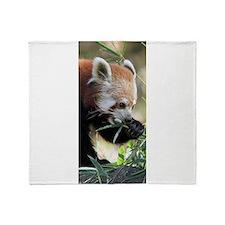 Red Panda 002 Throw Blanket