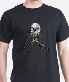 AR-15 Skull and Crossbones T-Shirt