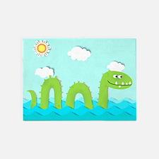 Sea Monster 5'x7'Area Rug