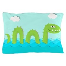 Sea Monster Pillow Case