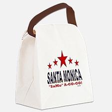 """Santa Monica """"SaMo"""" A-Go-Go Canvas Lunch Bag"""