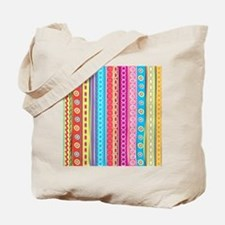 Colorful Stripes Tote Bag