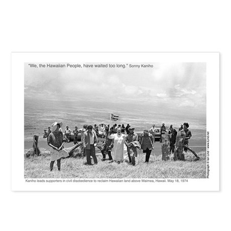Waimea Protest (1974) - Postcards (Package of 8)