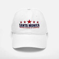 Santa Monica U.S.A. Baseball Baseball Cap