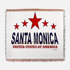Santa Monica U.S.A. Woven Blanket