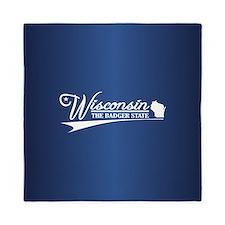 Wisconsin State of Mine Queen Duvet