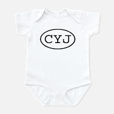 CYJ Oval Infant Bodysuit