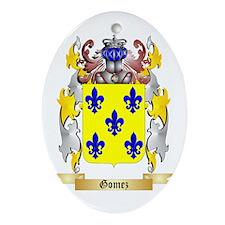 Gomez Ornament (Oval)