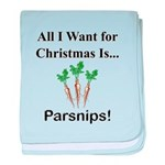 Christmas Parsnips baby blanket