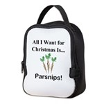 Christmas Parsnips Neoprene Lunch Bag