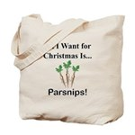 Christmas Parsnips Tote Bag