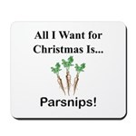 Christmas Parsnips Mousepad