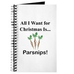 Christmas Parsnips Journal