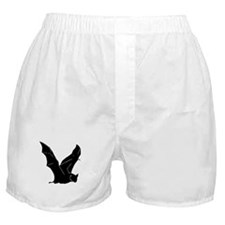 Flying Bat Silhouette Boxer Shorts