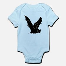Flying Bat Silhouette Infant Bodysuit