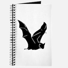 Flying Bat Silhouette Journal