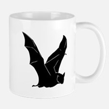 Flying Bat Silhouette Mug