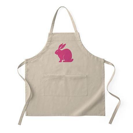 Pink Bunny Rabbit BBQ Apron