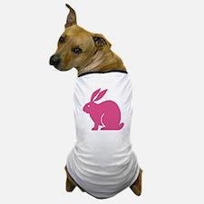 Pink Bunny Rabbit Dog T-Shirt
