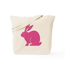 Pink Bunny Rabbit Tote Bag