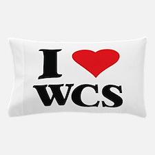 I Love West Coast Swing Pillow Case