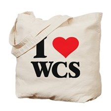 I Love West Coast Swing Tote Bag