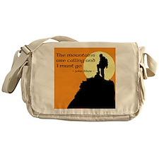 Mountains Calling Messenger Bag